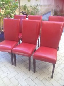 6 dining chairs Doubleview Stirling Area Preview