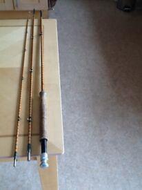 Hardy split - cane trout fly rod