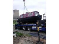 *Reduced* 20ft Springer Narrowboat boat project *Reduced*