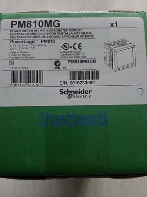1 Pc New Schneider Power Meter Pm810mg In Box