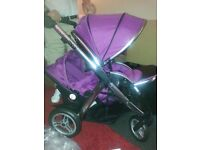 Oyster max two double pushchair