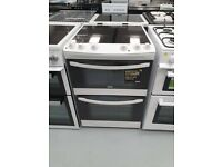 Zanussi Ceramic Electric Cooker with Double Oven Ex Display (12 months Warranty)