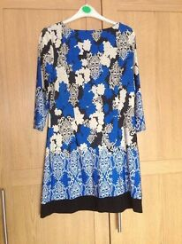 Blue dress/tunic size 14