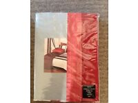 167x137cm curtains and tie backs NEW