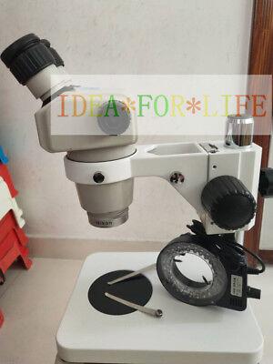 Nikon Smz-1 Stereo Microscope Nikon 20x12 Eyepieces0.5x Objective Light Stand