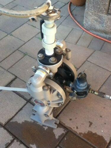 ARO Ingersoll Rand Pneumatic Diaphragm Pump 1 inch Model 66651A3-344