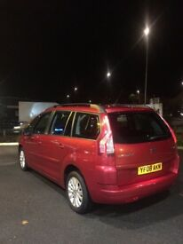Citroen C4 Grand Picasso VTR+ consider any exchange very good car