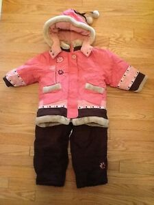 Kids Peluche et Tartine (pink/brown) Snowsuit