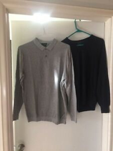 Chandails / Pulls Légers Massimo Dutti 15$ Chaque
