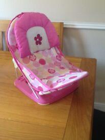 Baby girls bath chair