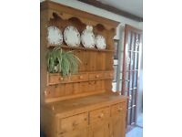 Pine Kitchen Dresser ..