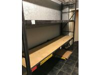 Warehouse Shelving 230cm high, 250cm long and 60cm Racking