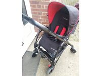 Maxi cosi streety pushchair from birth - 3+ years with raincover and newborn insert