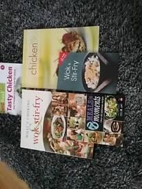 Set 5 recipe books