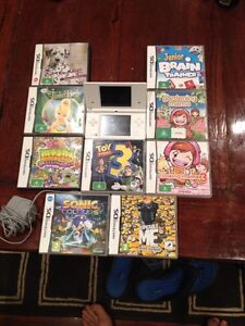 Nintendo dsi with 10 games and charger Wallsend Newcastle Area Preview