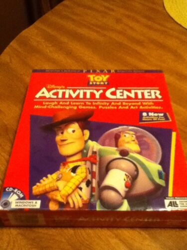 New Disney's Toy Story Activity Center For Kids Games Window