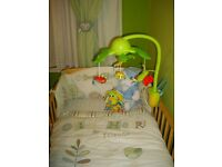 Olive and Henri cotbed bedding set (4 pieces) Toys R us
