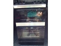 ELECTRIC COOKER, DOUBLE FAN ASSISTED OVENS, VARIABLE GRILL, DIGITAL DISPLAY
