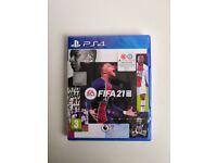 [New/Sealed] FIFA 21 PS4