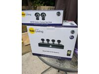 Yale Smart HD720 CCTV System - 4 Camera/8 Channel + 2 extra Cameras