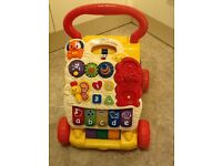 Vtech first steps baby walker – red/yellow
