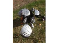 Junior Golf Clubs - 10 to 12 year olds including bag