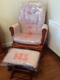 BabyLo glider chair & stool **NEW**