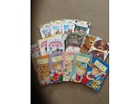 15 piece book bundle for girls, all immaculate condition