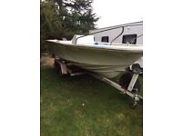 20ft Sports Fishing Boat with Trailer.