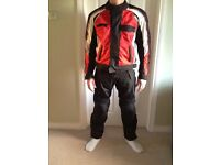 MOTORBIKE CLOTHING 3M Scotchlight- EXCELLENT PROTECTION INCLUDES INNER DETACHABLE PADDING