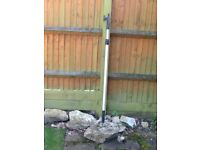 BOAT HOOK Telescopic Aluminium Poll.