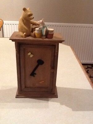 border fine arts winnie the pooh key box