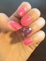 MANICURES, PEDICURES, GEL POLISH and SENIOR NAIL CARE!!