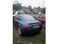 Audi TT 1.8 180BHP.