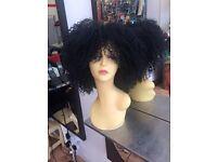 Afro carribean hairdresser