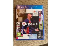 FIFA 21 ps4 New and sealed