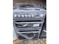 EX DISPLAY GREY HOTPOT 60cm ELECTRIC COOKER , 6 MONTHS WARRANTY