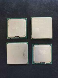 AMD ATHLON INTEL PENTIUM CPU PROCESSORS