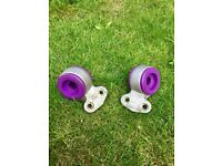 BMW e46 front control arm POLY BUSHES all models