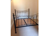 NEW VICTORIAN STYLE IRON BED