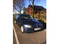 BMW 2006 3 Series 2.0 318i ES MANUAL 6 SPEED 4dr 2 KEYS -FULL SERVICE HISTORY blue