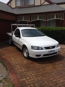 2005 Ford BA MkII Falcon Ute Cab Chassis Aspendale Gardens Kingston Area Preview