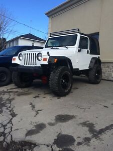 Jeep tj lift
