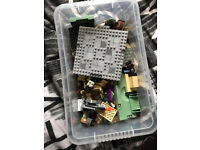 Box of Harry Potter lego