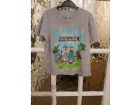 MINECRAFT TOP SIZE 5-6 YEARS (MORE AVAILABLE IN MY OTHER LISTINGS)