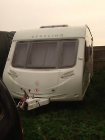 Sterling Europa 4 Berth Caravan 2011