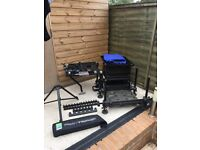 preston innovations absolute black edition seat box with extra's
