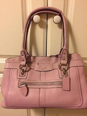 Coach Penelope Pebble Leather Satchel - LAVENDER/LILAC *** Pre-Owned for sale  Dundee