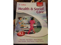 Health and Social Care Book - A Level