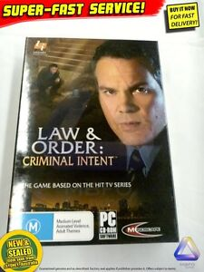 law and order criminal intent game